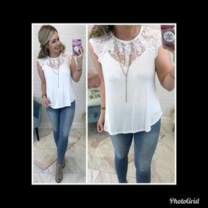NWT Fiona Lace Top